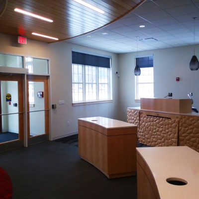 interior photo of kennebec valley credit union