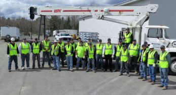 photo of bowman construction workers