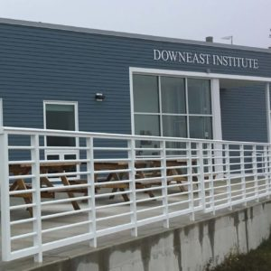 exterior photo of downeast institute building