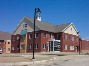 exterior photo of bucksport middle school