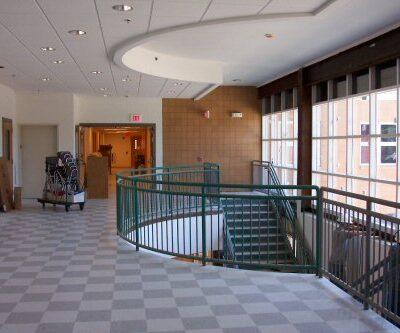 interior photo of bucksport middle school