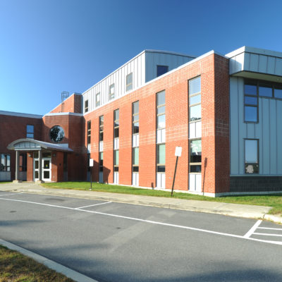 exterior photo of katahdin hall at eastern maine community college