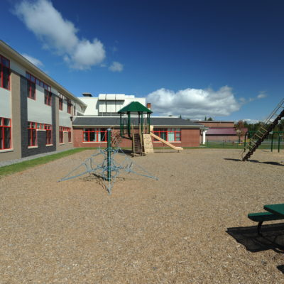 exterior photo of sedomocha elementary school playground