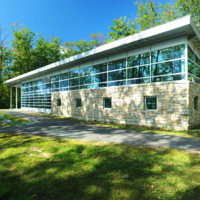 external photo of foster innovation center at umo