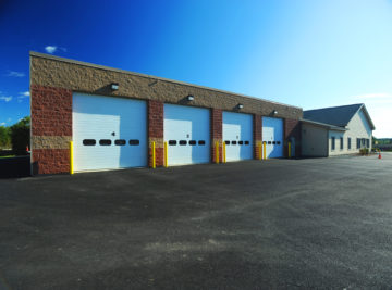 exterior photo of hermon fire station building