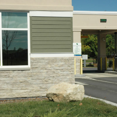 exterior photo of bangor federal credit union building