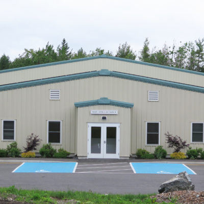 exterior photo of bar harbor municipal building