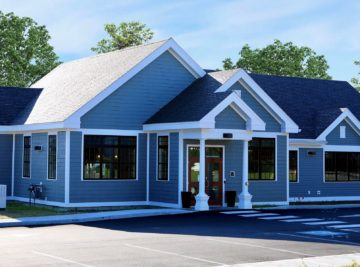 external photo of kennebec valley credit union building