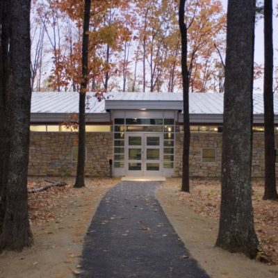 exterior photo of foster innovation center at umo