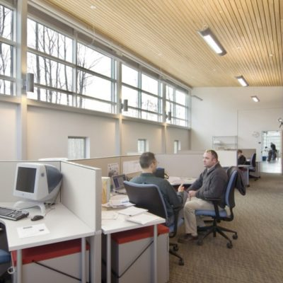 interior photo of foster innovation center at umo