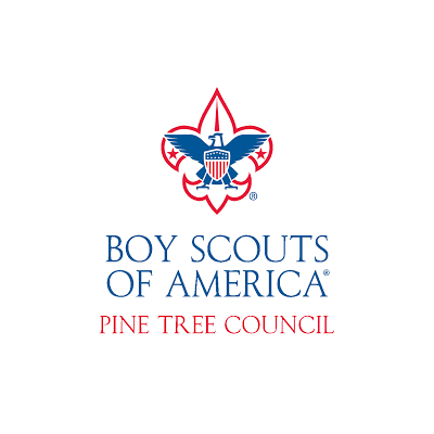boy scouts of america pine tree council logo