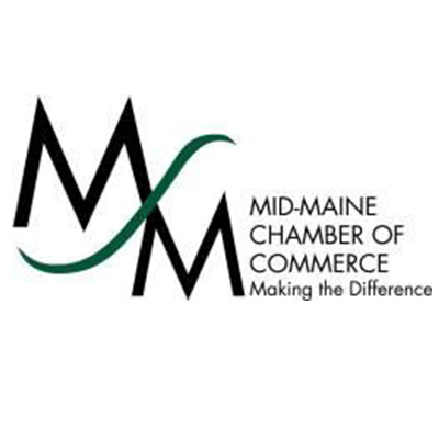 mid-maine chamber of commerce making the difference logo