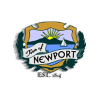 town of newport crest logo