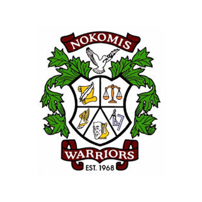 nokomis warriors logo crest