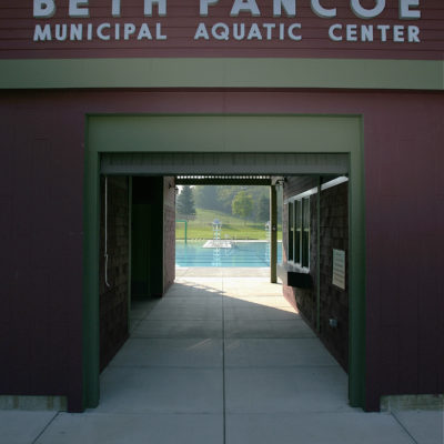 photo of beth pancoe municipal aquatic center entrance