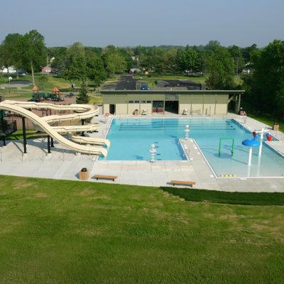 exterior photo of beth pancoe municipal aquatic center
