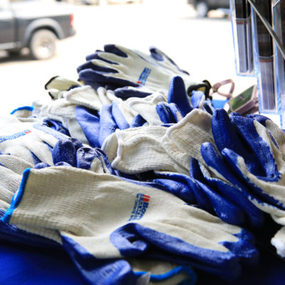 photo of golf gloves at sebasticook valley fcu golf tournament