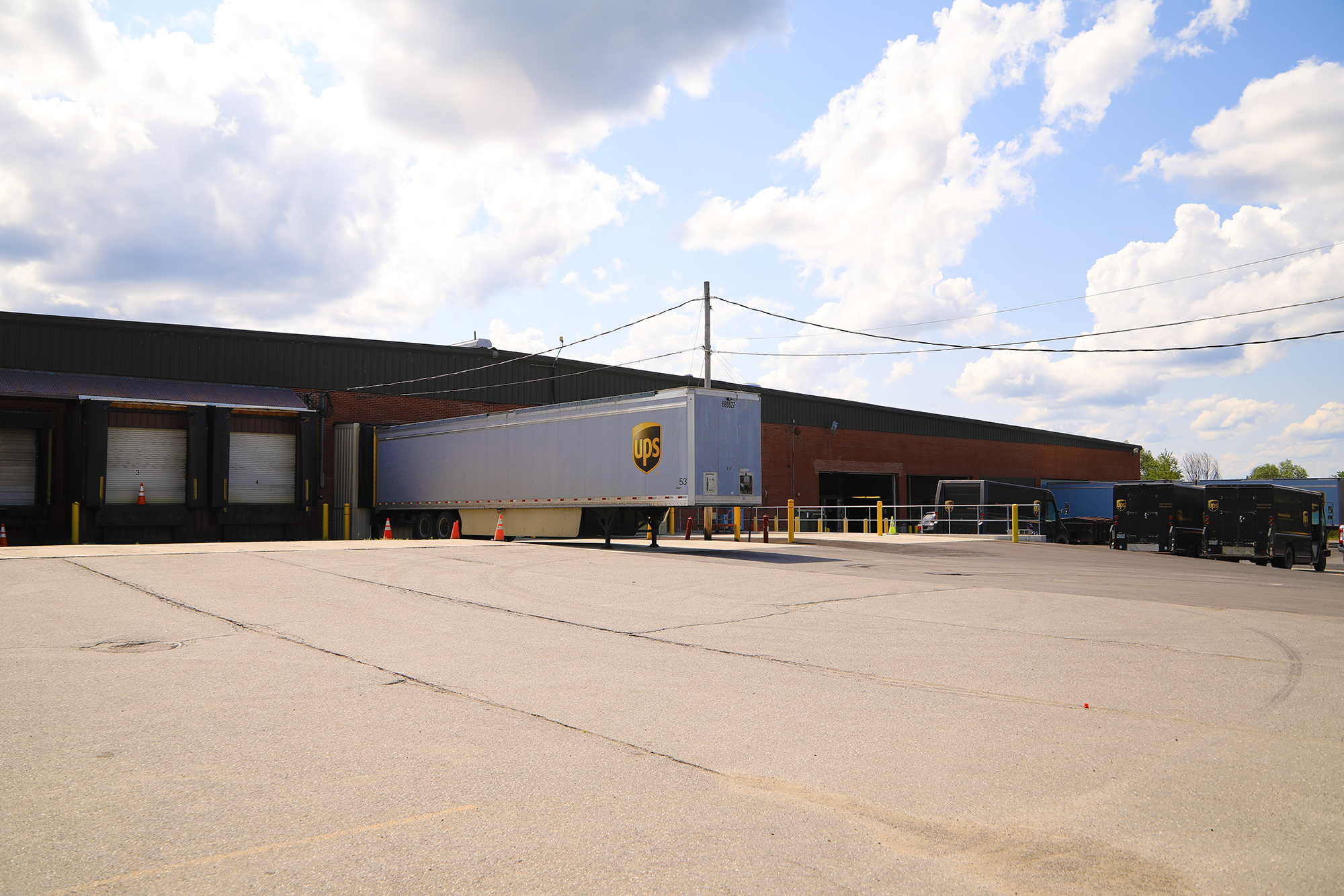 exterior photo of ups building