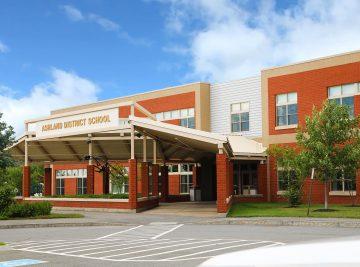 external photo of ashland school building