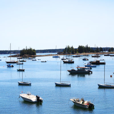 photo of boats at the ocean view walkway