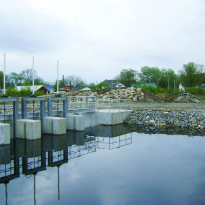 photo of lake anasugunticook dam replacement