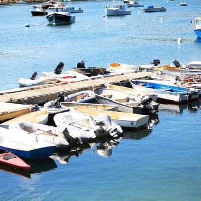 photo of the ocean view walkway dingies