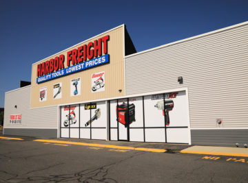 external photo of harbor freight building