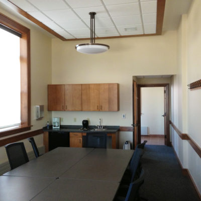 internal photo of piscataquis county courthouse