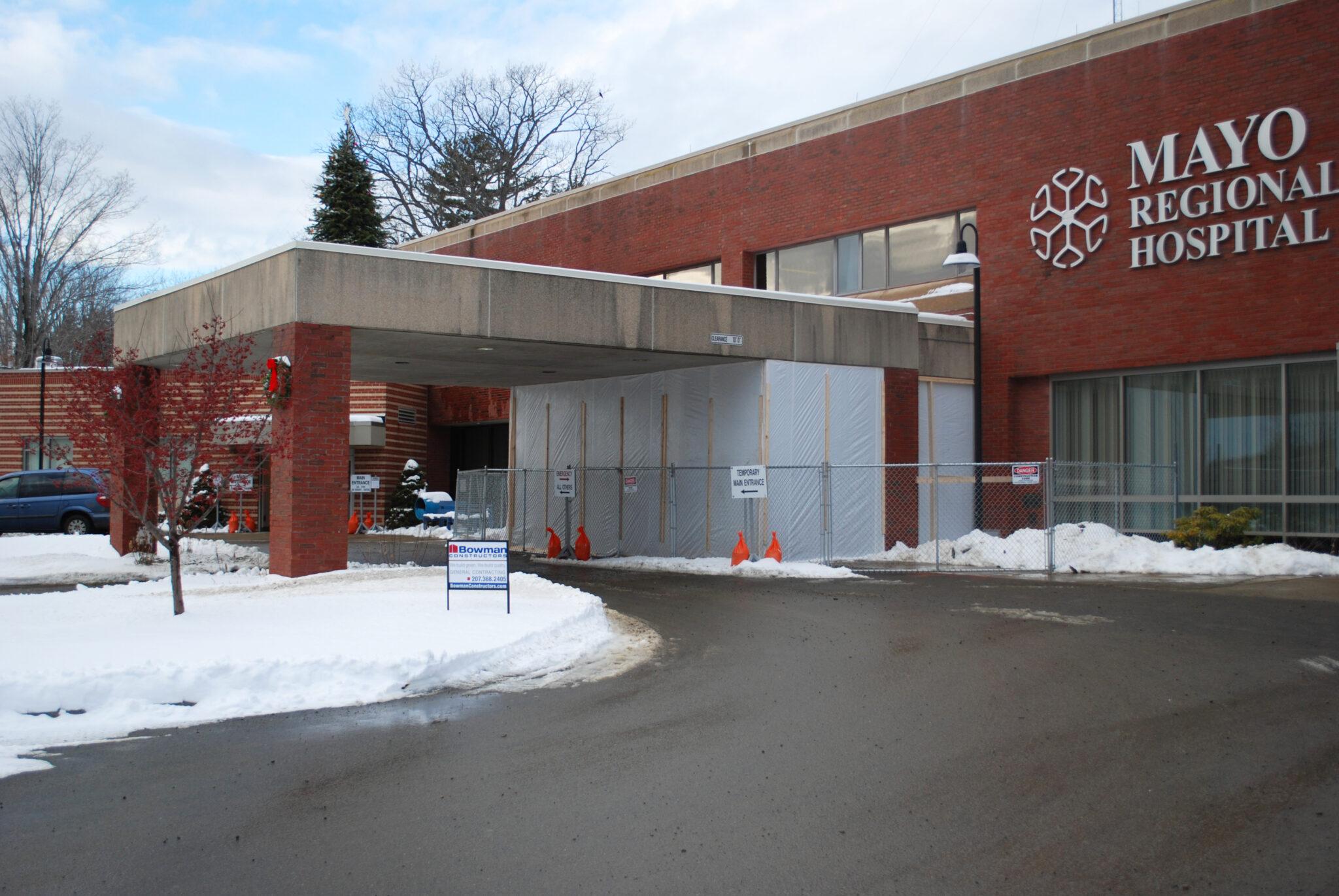 external photo of mayo regional hospital