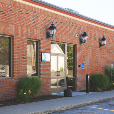 external photo of new dimensions FCU building in skowhegan