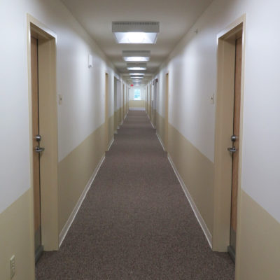internal photo of north view apartments hallway