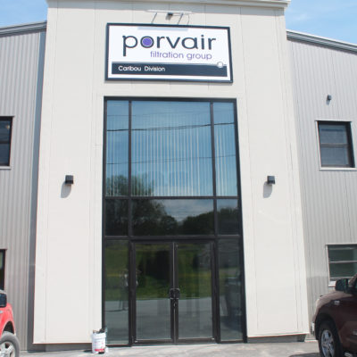 exterior photo of porvair filtration group building