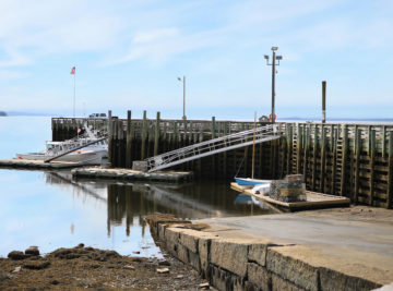 photo of searsport pier