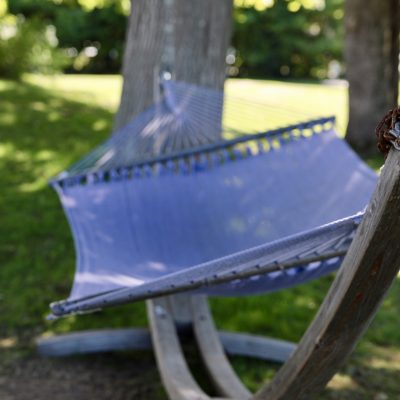 photo of hammock outside